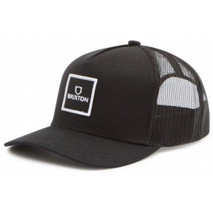 Brixton kšiltovka Alpha Block X Cmp Mesh Cap black  + doručení do 24 hod.