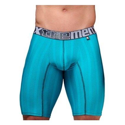 Pánské boxerky Xtremen Sports Boxer Perforated Jade