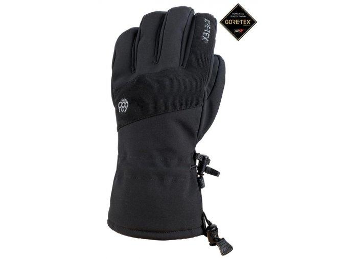 686 zimni rukavice linear gore tex glove black 19 20