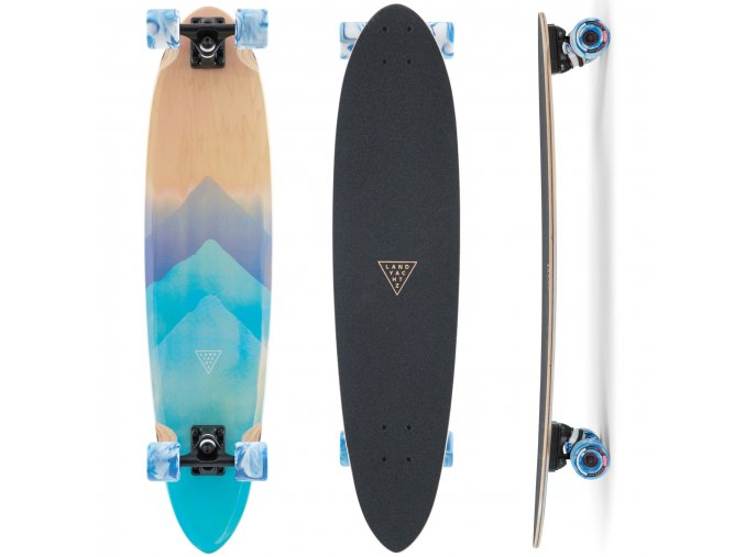 longboard cruiser landyachtz super chief watercolor exilshop olomouc