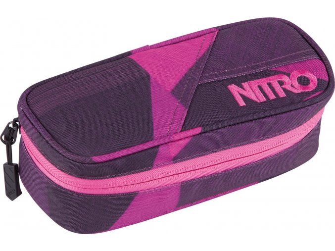 Nitro penál Pencil Case fragments purple