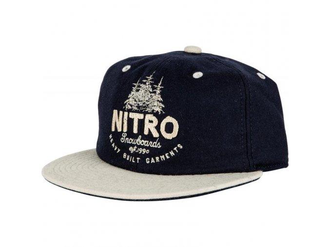 Nitro kšiltovka Woods CAP navy wool