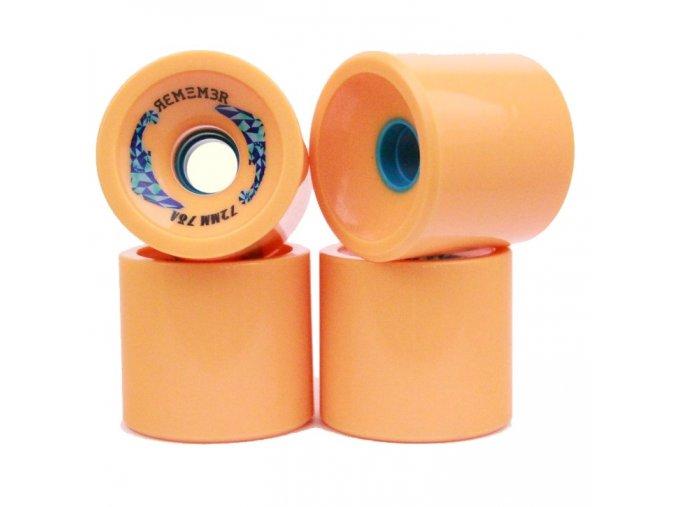 Remember kolečka Farley Orange wheels 72mm/78a 4ks