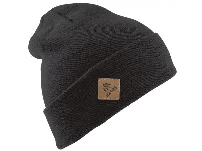 jones zimni cepice baker beanie heather black 19 20