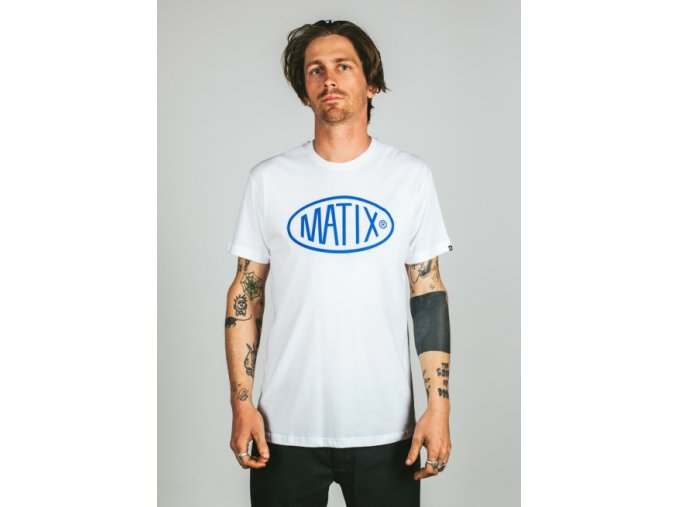 Matix triko Station T-Shirt white