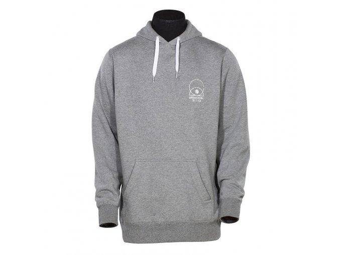 Armada mikina FLIGHT PULLOVER HOODY heather grey 14/15