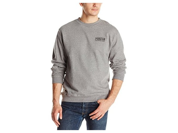 Matix mikina Union Crew Fleece grey