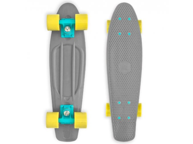 "Baby Miller Old Is Cool Stone Grey 22,5"" longboard"