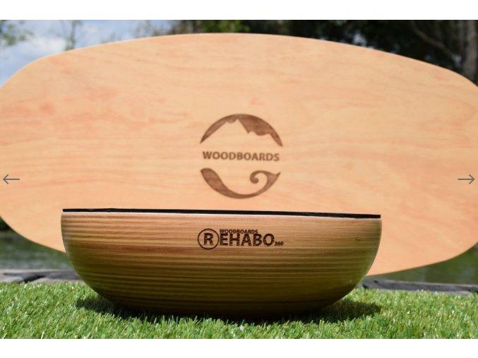 Woodboards REHABO 360 KOMPLET Indo Board