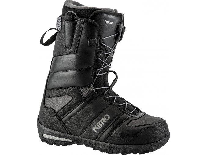 Nitro panske boty na snowboard Vagabond TLS black 17/18