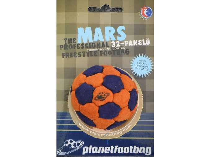 Footbag Mars orange hakisak