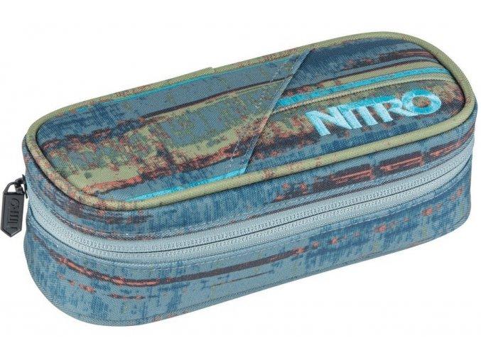 Nitro penál Pencil Case frequency blue 18/19