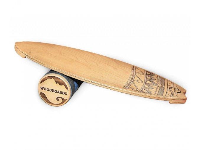 Woodboards Surf komplet Indoboard