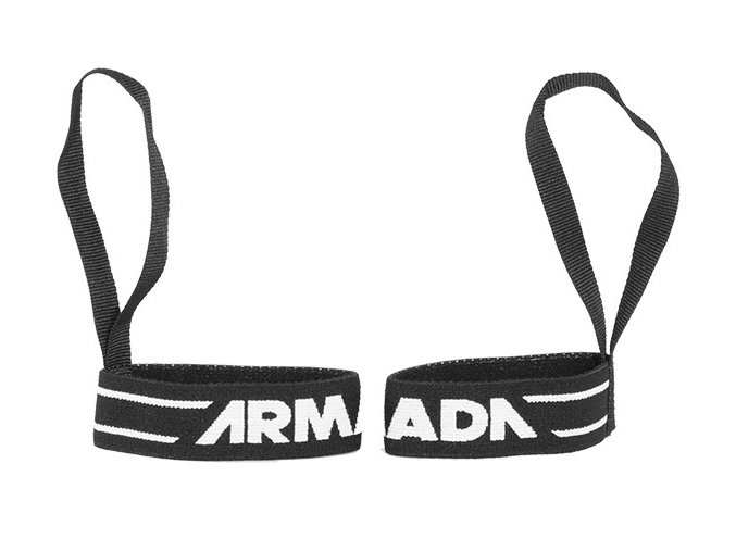 Armada Wrist Leash black poutko na rukavice 2019