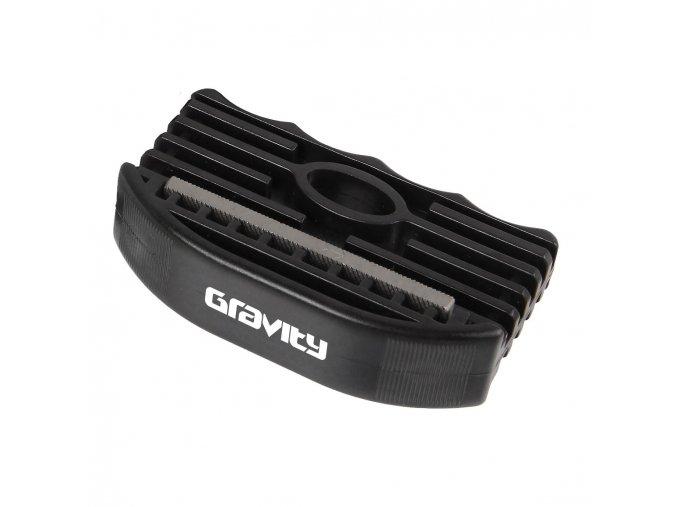 Gravity brousek na snowboard Edge tuner black  + doručení do 24 hod.