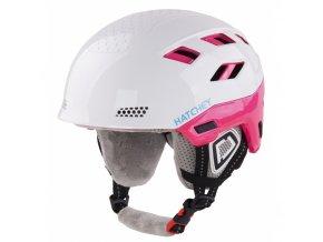 dámská Hatchey zimní helma Desire white pink