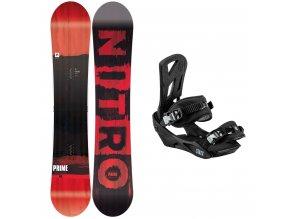 snowboard komplet pansky nitro Prime Screen staxx pepper exilshop olomouc