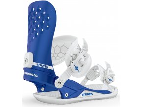 Union vázání na snowboard Strata Metallic Blue 19/20