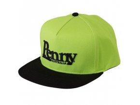 Penny kšiltovka Green & Black Cap Snapback