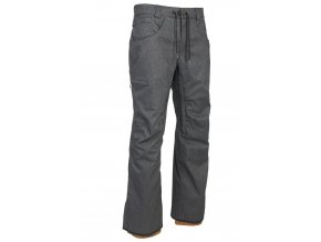 686 kalhoty Stretch Rebel Shell Pant Black Denim 19/20