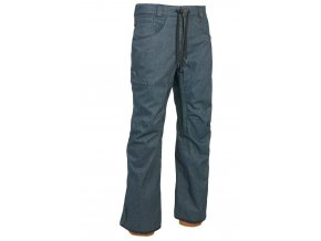 686 kalhoty Stretch Rebel Shell Pant Indigo Denim 19/20