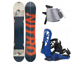 Splitboard komplet Nitro Nomad + Union Expedition Blue + Jones Nomad 19 20