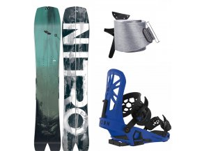 Splitboard komplet Nitro Squash + Union Expedition Blue + Jones Nomad 1920