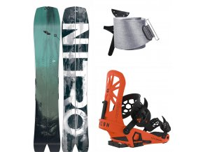 Splitboard komplet Nitro Squash + Union Expedition Orange + Jones Nomad 1920