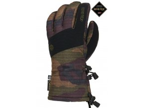 686 zimni rukavice linear gore tex glove grey dark camo 19 20