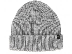 arcade heather grey beanie billabong