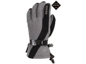 686 damske zimni rukavice linear gore tex glove Grey Melange 19 20