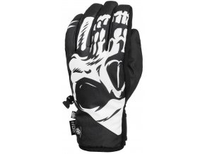 686 zimni rukavice ruckus pipe glove black reaper 19 20