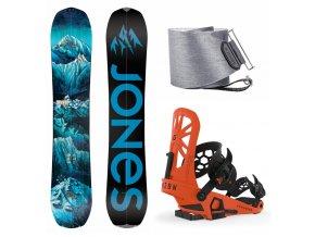 splitboard komplet jones frontier union expedition Orange jones nomad qttc 19 20