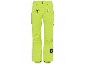 o neill kalhoty na snowboard quartzite pants lime punch 19 20