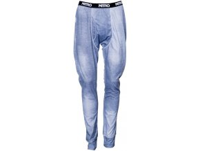 Nitro spodky 1ST LAYER LONG JONS PANTS denim print