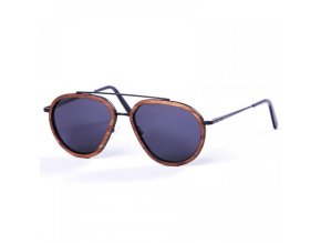 pitcha starker sunglasses metal walnut