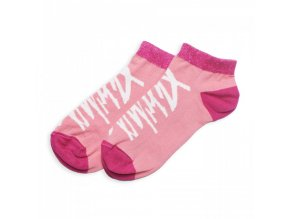 ponozky pitcha liliput light socks pink