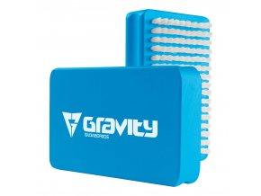 Gravity kartáč Wax brush blue/white