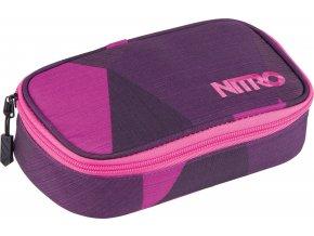 Nitro penál Pencil Case XL fragments purple