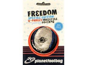 Footbag Freedom blue hakisak