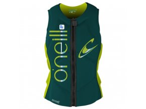 O'Neill vesta Wms Slasher Comp Vest deep teal/lime 2016