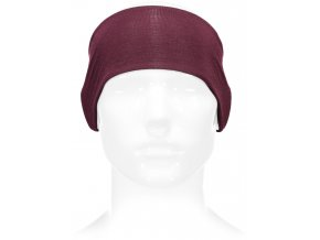 Medium 41145 602 01 unisex revy reversible headband scatter burgundy ghost