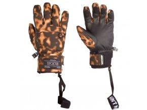 Armada zimní rukavice dámské W'S Agency Gore-Tex glove tortoise shell 16/17
