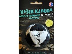 Footbag Vašek Klouda hakisak black white