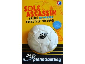 Footbag Sole Assasin white hakisak
