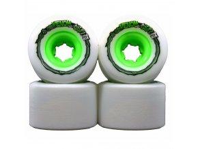 Venom kolečka Thug Life Six-Fours white green 64mm/80a 4ks