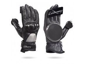 Loaded rukavice na longboard RACE Gloves black S/M