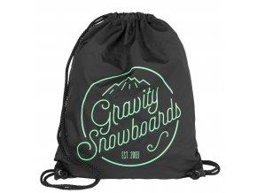 Gravity pytlík Connie Cinch Bag black
