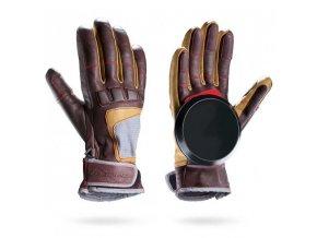 Loaded rukavice na longboard RACE Gloves black L/XL  + doručení do 24 hod.