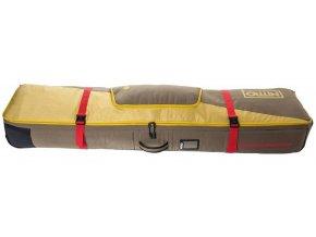 Nitro obal na snowboard TRACKER WHEELIE BOARD BAG 159 golden mud 16/17